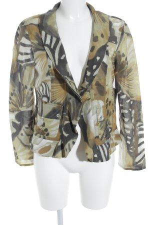 Marccain Langarm-Bluse abstraktes Muster klassischer Stil
