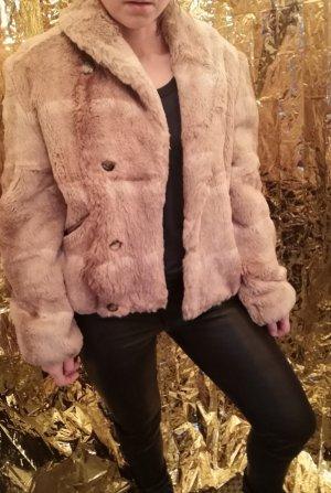 marccain Pelz Rex Kaninchen Fur Jacket N3 38 top Zustand