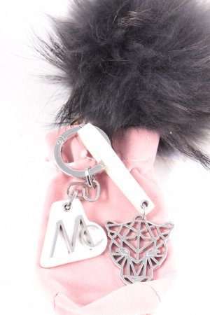 Marccain Key Chain white-silver-colored minimalist style
