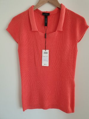 Marc Cain Knitted Top salmon-bright red