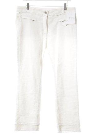 Marccain Sports Röhrenhose weiß-wollweiß 50ies-Stil