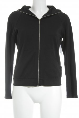 Marccain Sports Sportjacke schwarz Casual-Look