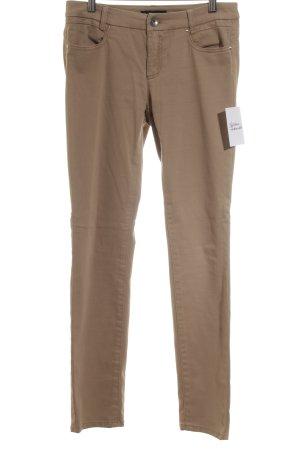 Marccain Stretch Jeans beige schlichter Stil
