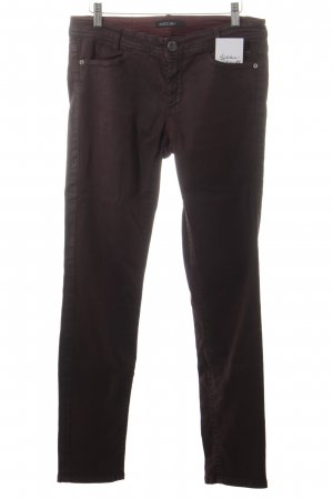 Marccain Stretchhose karminrot Street-Fashion-Look
