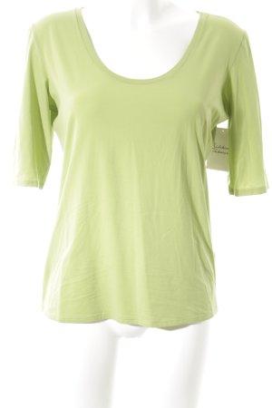 Marccain T-Shirt hellgrün Casual-Look