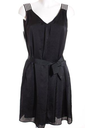 Marccain Trägerkleid schwarz-weiß klassischer Stil