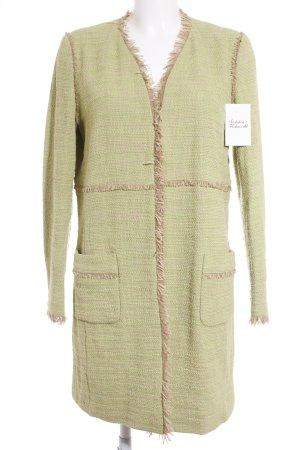 Marccain Manteau mi-saison vert clair-beige style décontracté