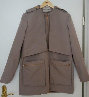 Marcel Ostertag Designer Mantel Trenchcoat beige rosé Gr. M/L (38-42)