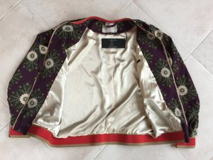 Marcel Ostertag Bomber Jacket multicolored silk