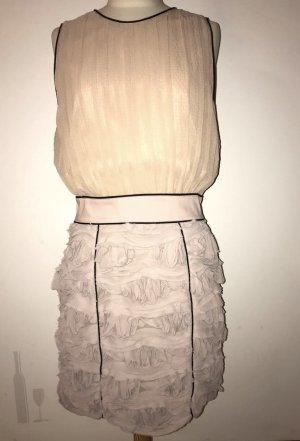 Marcel Ostertag nudefarbenes Kleid