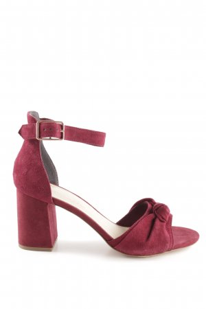 Marcel Ostertag Strapped pumps bordeaux simple style