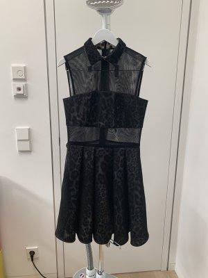 Marcell von Berlin Cut out jurk zwart