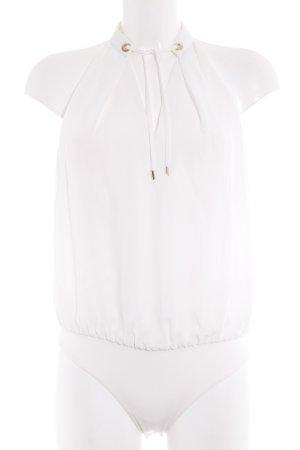 Marciano Blusa tipo body blanco elegante