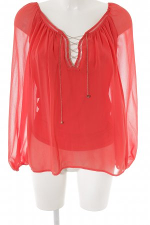 Marciano Langarm-Bluse hellrot Casual-Look