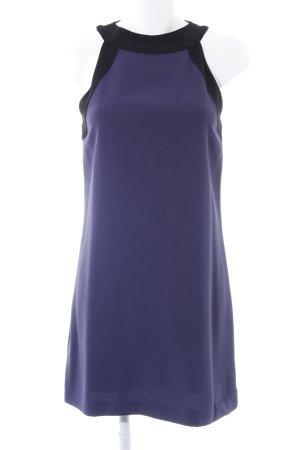 Marciano schulterfreies Kleid blauviolett-schwarz Elegant