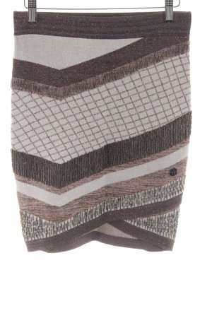 Marciano Knitted Skirt mixed pattern extravagant style