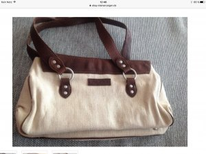 Marco O'Polo Canvas/Leder Tasche