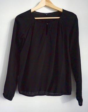 Marco O'Polo halbtransparente Bluse Größe 34