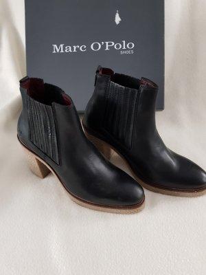 Marc O'Polo Bottines à enfiler noir cuir