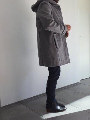 MARCO O'POLO Parka aus Wolle, Gr. 40-42 NEU m. großzüziger Kaputze