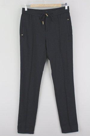 Marco O'Polo Stoffhose mit Bügelfalten schwarz Größe 36 1708500120497