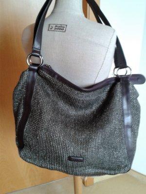 Marco O'Polo Tasche, dunkelgrün, Materialmix