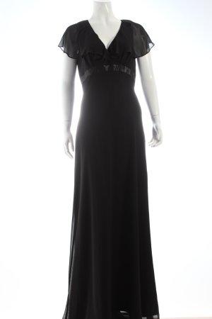 Marco Pecci Abendkleid schwarz Eleganz-Look