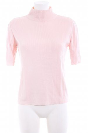 Marco Pecci Short Sleeve Sweater pink casual look