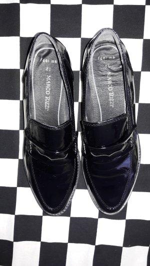 Marco Pecci Zapatos sin cordones negro