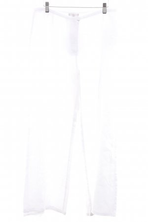 Marco Pecci Linnen broek wit casual uitstraling