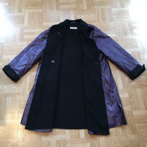 Marco Pecci Between-Seasons-Coat multicolored polyester