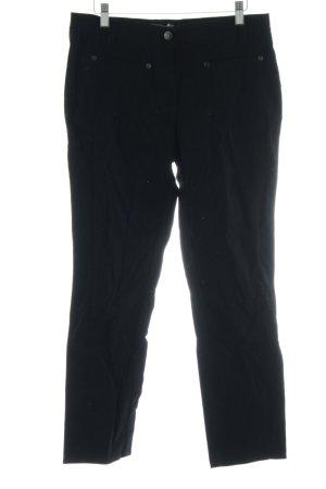 Marco Pecci Straight-Leg Jeans schwarz Casual-Look