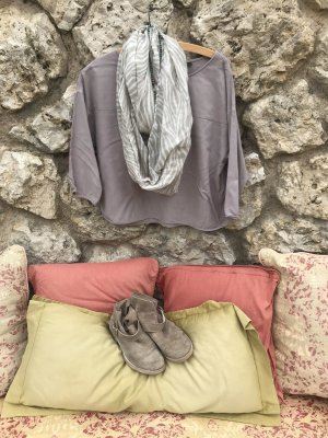 Marco Polo Basic Tunika in tollem Taupe