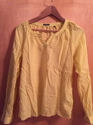 Marco Polo Bluse in gelb Größe 36