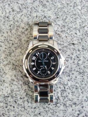 Marco Polo Chronograph schwarz / silber