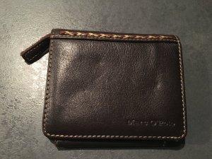 Marco Polo Geldbeutel aus Leder - braun