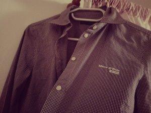 Marc O'Polo DENIM Camicia blusa bianco-marrone-viola