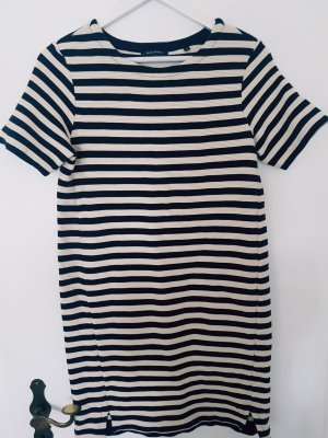 Marco Polo Kleid Marine Creme Blau gestreift