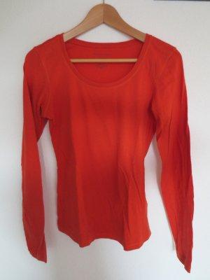 Marco Polo, langarm shirt, gr. 36, orange/rot