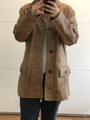Marco Polo Lederjacke, keine Größe innen eher 40/42