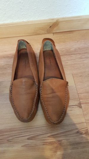 Marc O'Polo Moccasins brown leather