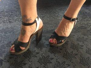 Marco Polo Sandaletten mit Blockabsatz, Größe 38