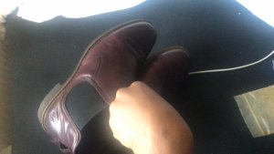 Marc O'Polo Stivaletto buskin bordeaux-marrone-rosso