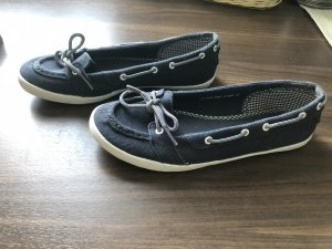 Marc O'Polo Moccasins dark blue-white