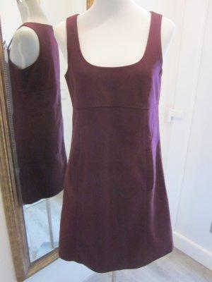 Vestido de lana púrpura Lana