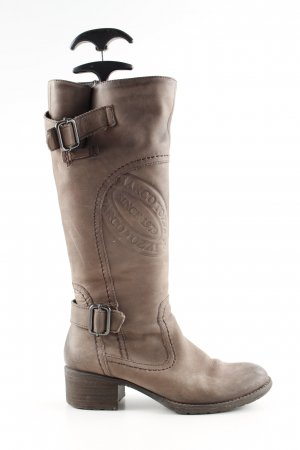 Marco Tozzi Absatz Stiefel braun Casual-Look