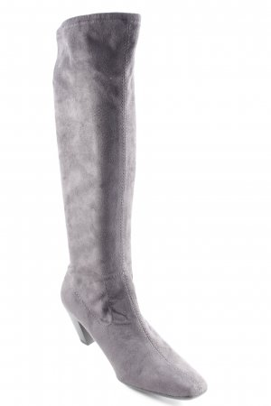 Marco Tozzi Absatz Stiefel grau Casual-Look