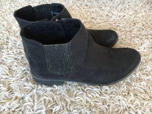 Marco Tozzi Ankle boots mit Stoffeinsatz