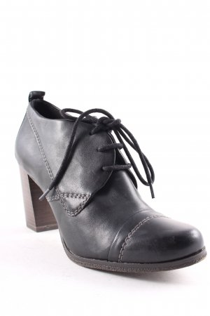 Marco Tozzi Ankle Boots schwarz klassischer Stil