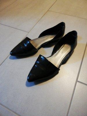 Marco Tozzi Patent Leather Ballerinas black